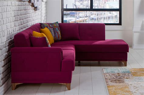 Purple Sofa Bed sectional purple sofa bed calida fabric sectional sofas