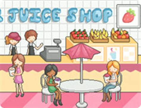 design  juice bar cooking games