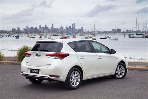 toyota go and see toyota corolla hybrid 27 530 data details