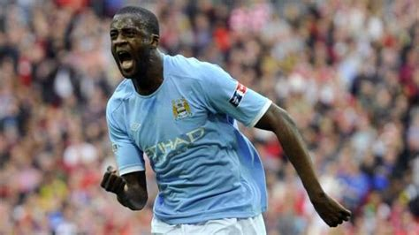 Touré Yaya, former Barcelona and Manchester City player ...