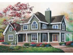 country house plans with wrap around porches manning country farmhouse plan 032d 0599 house plans and more