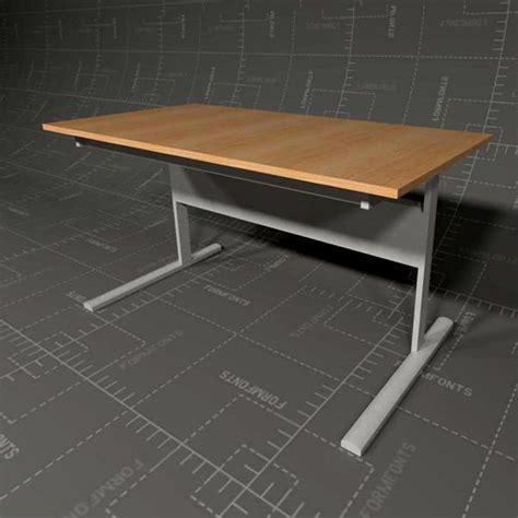 ikea fredrik desk  model formfonts  models textures