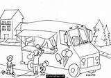 Ice Cream Coloring Truck Pages Parlor Printable Drawing Trucks Draw Easy Boys Monster Sheets 2nd Birthday Cool Malvorlagen Party Popular sketch template