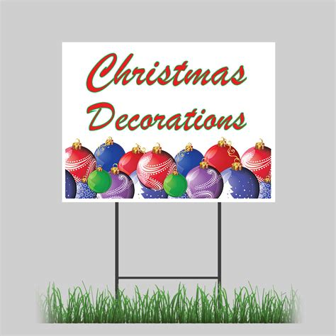 blow  christmas decorations yard sign  stake