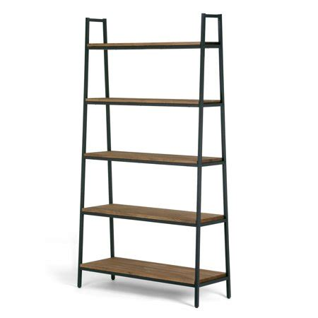 Metal Etagere Tower by Ailis 71 5 Quot Brown Pine Wood Metal Frame Etagere Bookcase