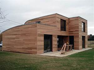 fabricant maison ossature bois boismaison With maison toit en verre 10 kits autoconstruction maison bois la maison bois par
