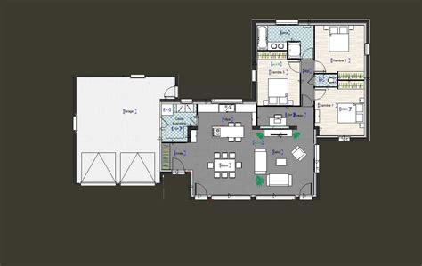 bureau de maison design plan de maison moderne plain pied maison moderne