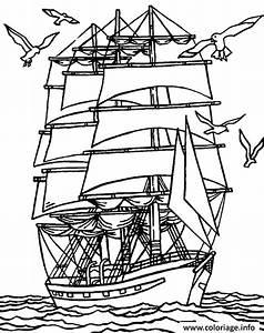 Cote Voiture Gratuite Avec Kilometrage : coloriage un navire proche de la cote avec des mouettes ~ Gottalentnigeria.com Avis de Voitures