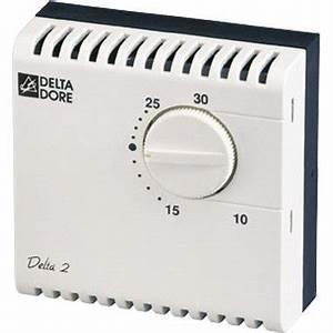 Thermostat Ambiance Chaudiere Gaz : thermostat d 39 ambiance filaire delta dore leroy merlin ~ Dailycaller-alerts.com Idées de Décoration