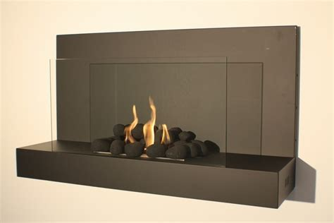 bio ethanol fireplace wall mounted bioethanol fireplaces contemporary elements