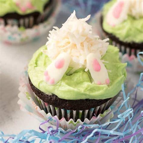 Bunny Butt Cupcakes Adorable Easter Spring Themed