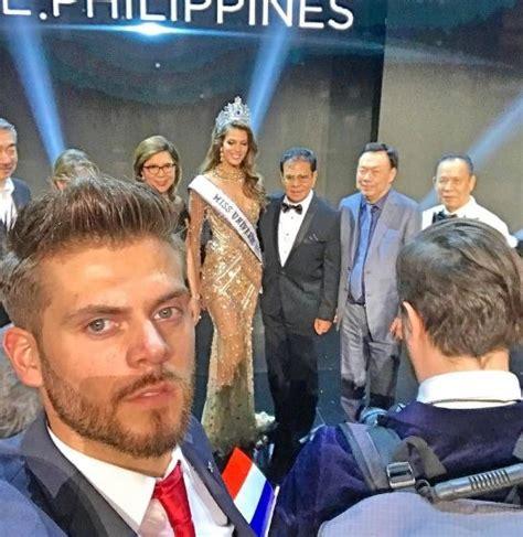 Miss Universe Iris Mittenaere's Boyfriend Matthieu