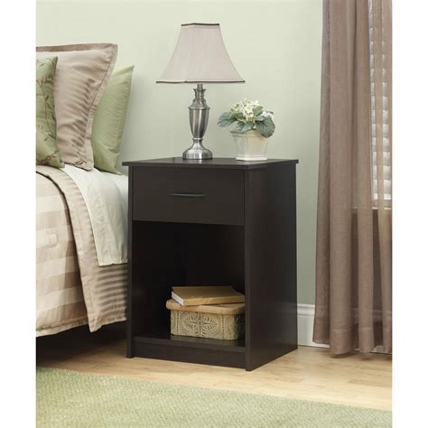 nightstand night stand  table  drawer furniture