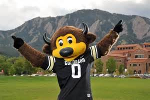 Ralphie Colorado Buffalo Mascot