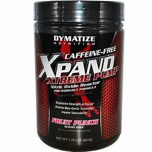 Dymatize Nutrition  Xpand Xtreme Pump  Nitric Oxide Reactor  Caffeine