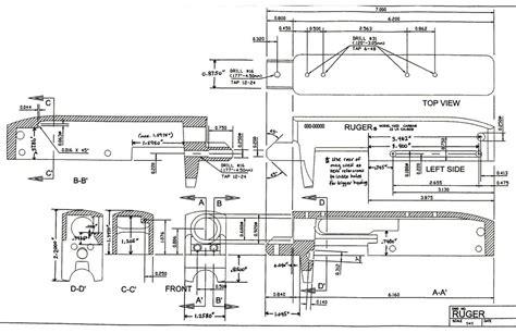 Ruger 10 22 Receiver Blueprint Ar15com