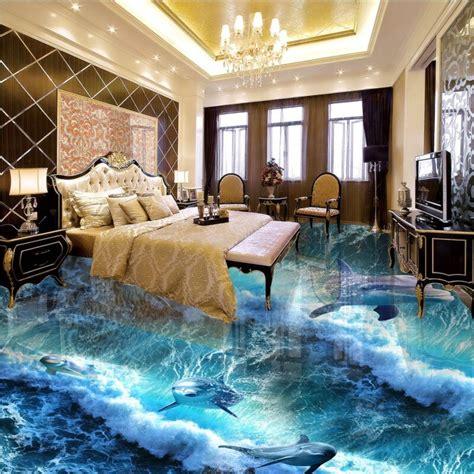 shipping custom  adhesive home decoration floor