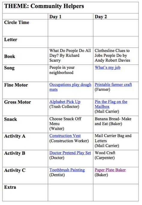 community helpers preschool lesson plans community helper preschool week more excellent me 587