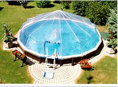 Soft Pool Attached Sun Dome – Above Ground Pools Industries