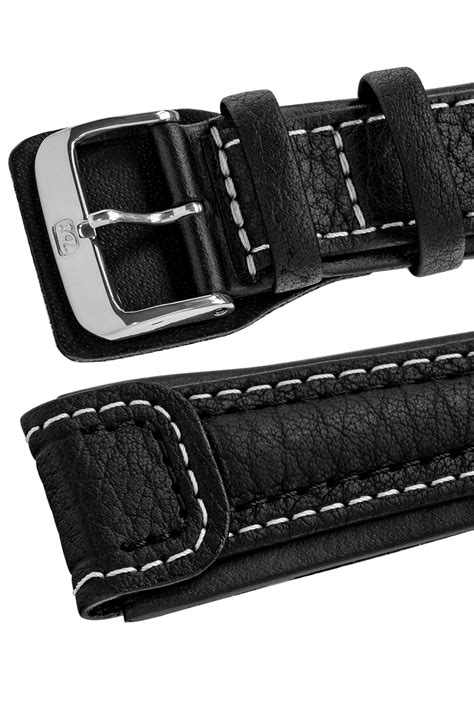 Di-Modell CHRONISSIMO Waterproof Leather Watch Strap in