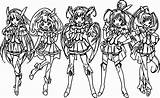 Glitter Coloring Force Pages Air Five Wecoloringpage Precure Smile Pretty Printable Team Cure Colorings Getcolorings Getdrawings Entitlementtrap sketch template