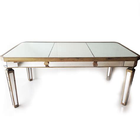 mirrored dining table set z gallerie mirrored dining table also hayworth mirrored