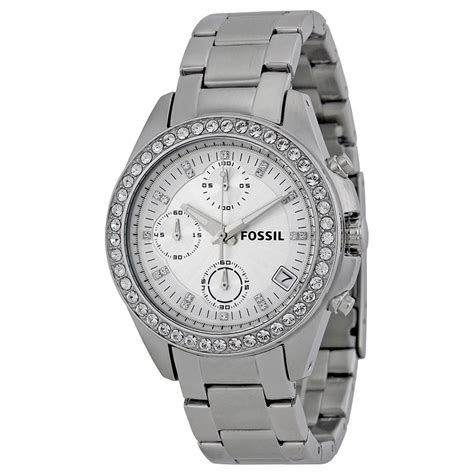 Fossil Decker Chronograph Stainless Steel Ladies Watch