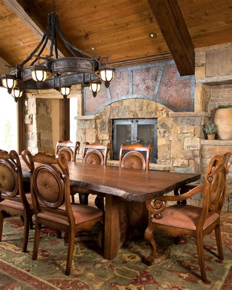 rustic dining room lighting ideas rustic farmhouse dining room design with metal