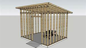 Modern Shed Framing Structure