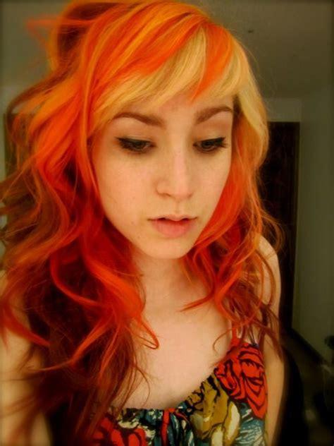 Orange Blonde Hair Wild Anal