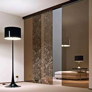 comment decorer des portes coulissantes de placard With kit porte coulissante placard ikea