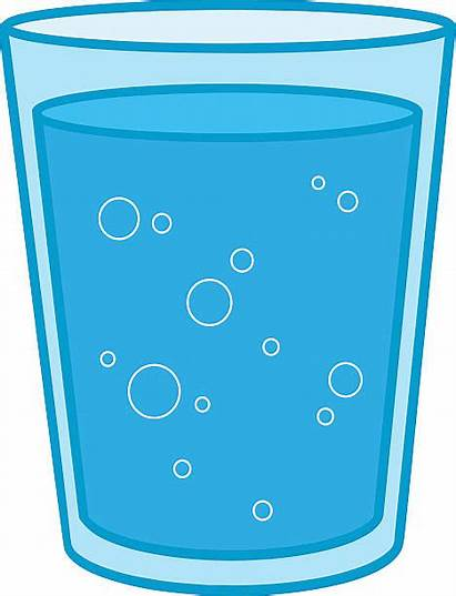 Water Glass Cup Clipart Cartoon Vector Wasserglas