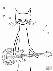 Pete The Cat Coloring Page Free Printable Coloring Pages