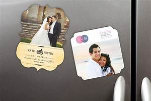 Wedding favors custom wedding favors wedding photo for Personalized ref magnet giveaways
