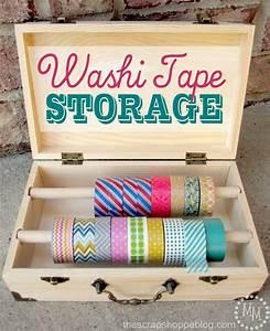 Washi Tape Storage The Scrap Shoppe