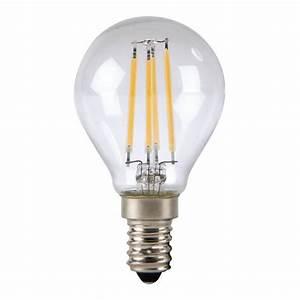 Filament Led E14 : omega led lamp e14 4w 2800k filament 43553 led lamps photopoint ~ Markanthonyermac.com Haus und Dekorationen