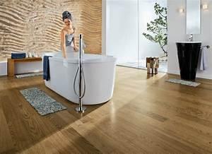 Kork Im Badezimmer : parquet salle de bain comment faire le bon choix ~ Markanthonyermac.com Haus und Dekorationen
