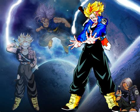 dbz trunks wallpaper  wallpapersafari