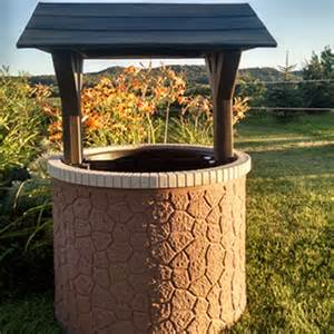 Outdoor Decorative Well Covers by Wishing Well Tank Top Covers