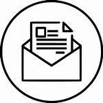 Envelope Email Icon Letter Marketing Newsletter Seo