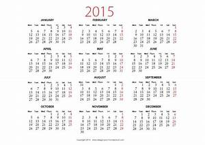 2015 calendar printable landscape new calendar template site With 2015 yearly calendar template in landscape format