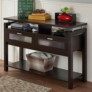 Furniture of america menner sofa table living room for Hometown furniture exchange