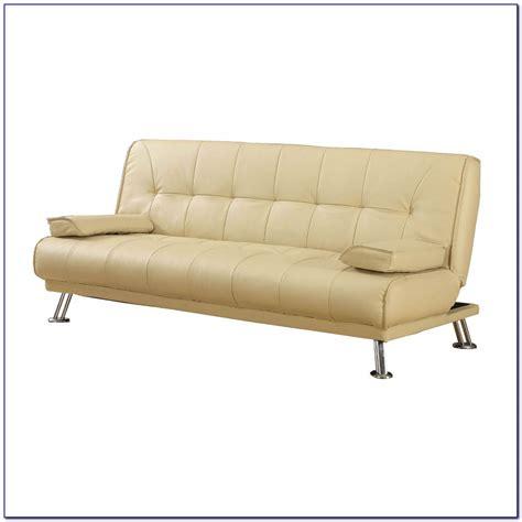 White Leather Sleeper Sofa by White Faux Leather Sleeper Sofa Sofas Home Decorating