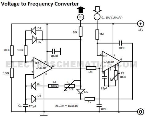 Voltage Frequency Converter Circuit Diagram