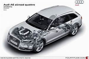 Audi A6 Allroad Quattro Chassis Cutaway Render