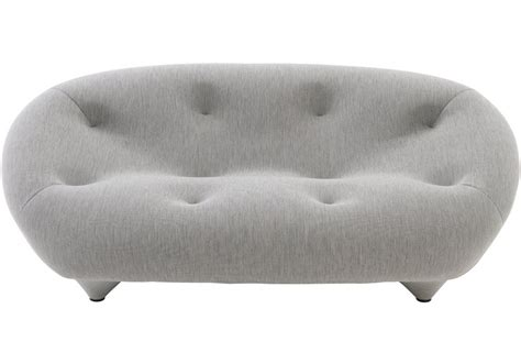 ligne roset canapé ploum ploum ligne roset 2 seater sofa with low backrest milia shop