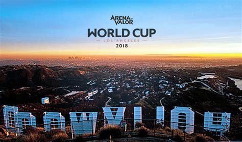 mobile esports tournaments arena  valor world cup