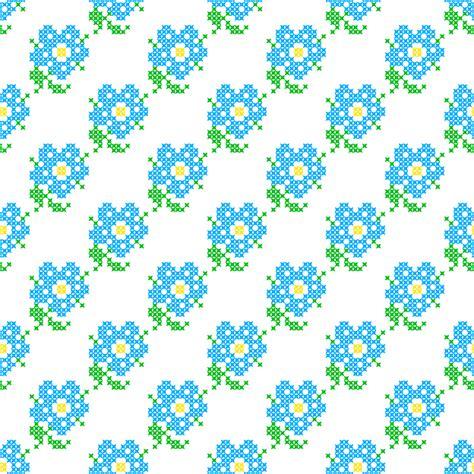 schemi punto croce fiori schemi punto croce per personalizzare grembiulini asilo