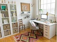 best simple home office ideas 5 Quick Tips for Home Office Organization | HGTV