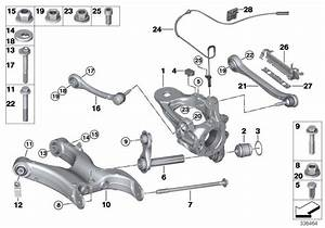 Bmw X5 Integral Link  Suspension  Axle  Rear